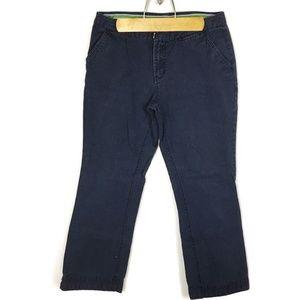 Aeropostale (S2-05) Juniors Sz 7/8 Blue Pants